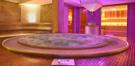 Djakuzi u wellness centru Solaris hotela u Vrnjackoj Banji