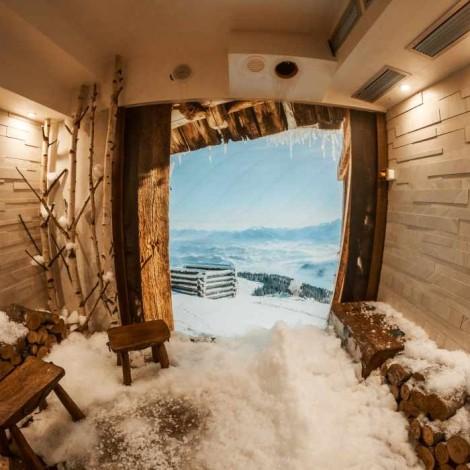 Hladna soba u wellness centru Solaris Resorta