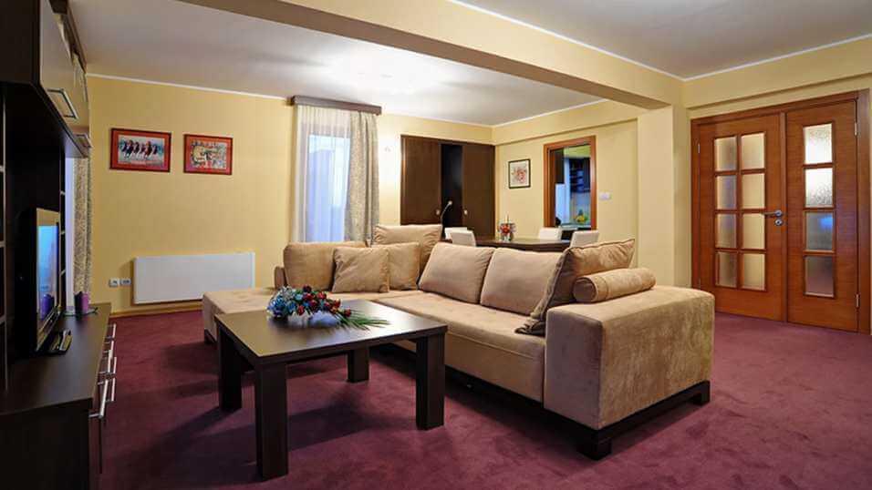 fotografija velikog penthouse apartmana od 110 kvadrata u Solaris Resortu u Vrnjačkoj Banji