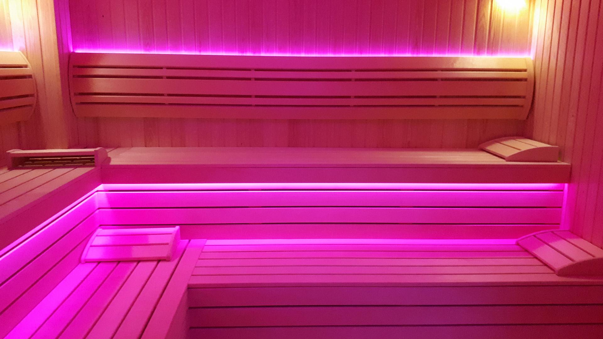 Finska sauna u wellness i spa centru u Vrnjačkoj Banji