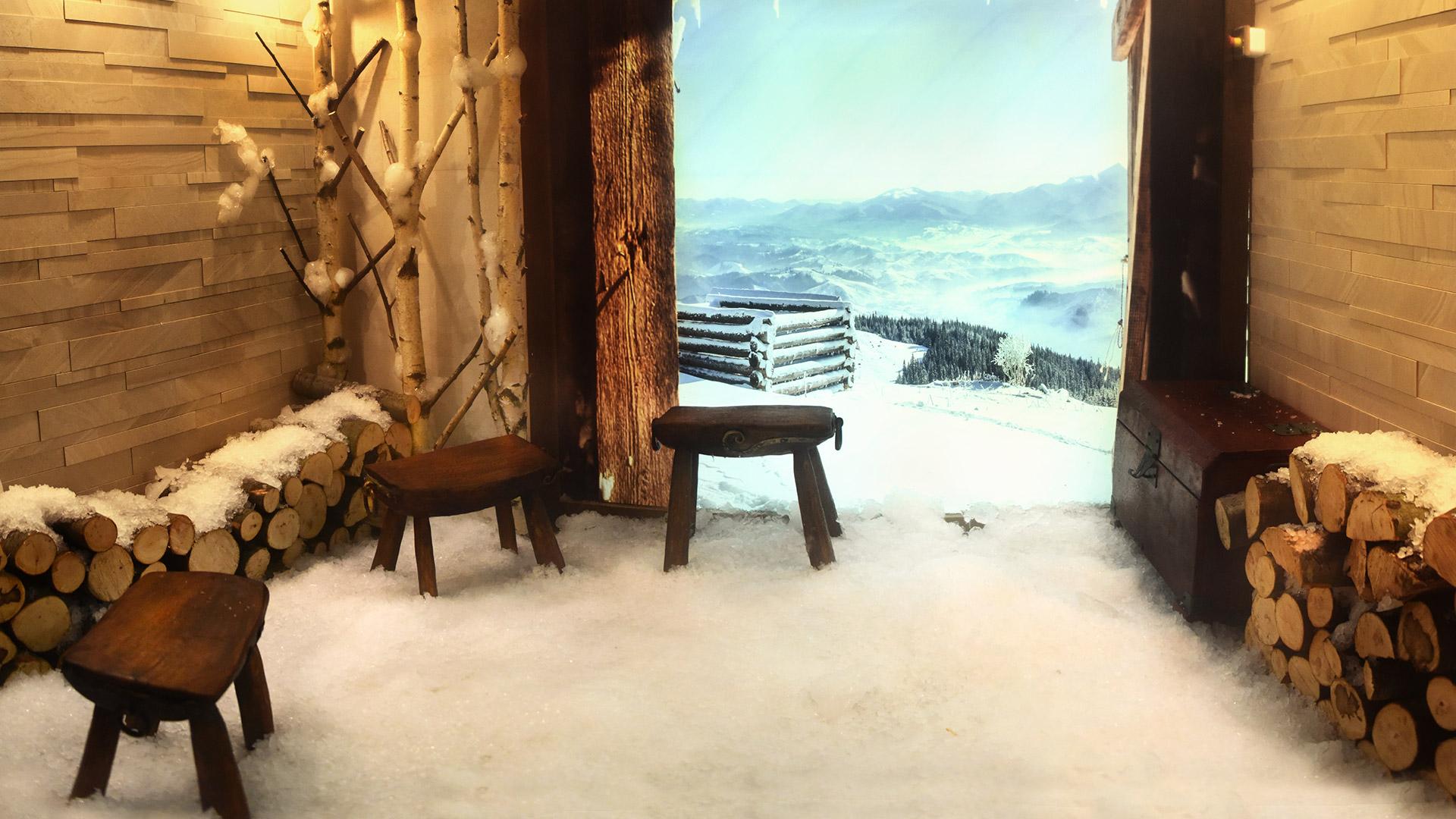 Ledena soba u wellness centru Solaris Resorta Vrnjačke Banje