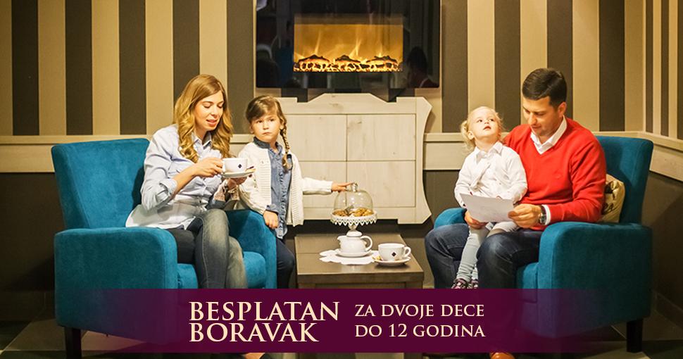 Porodična fotografija sa odmora u Solaris Resortu u Vrnjackoj Banji