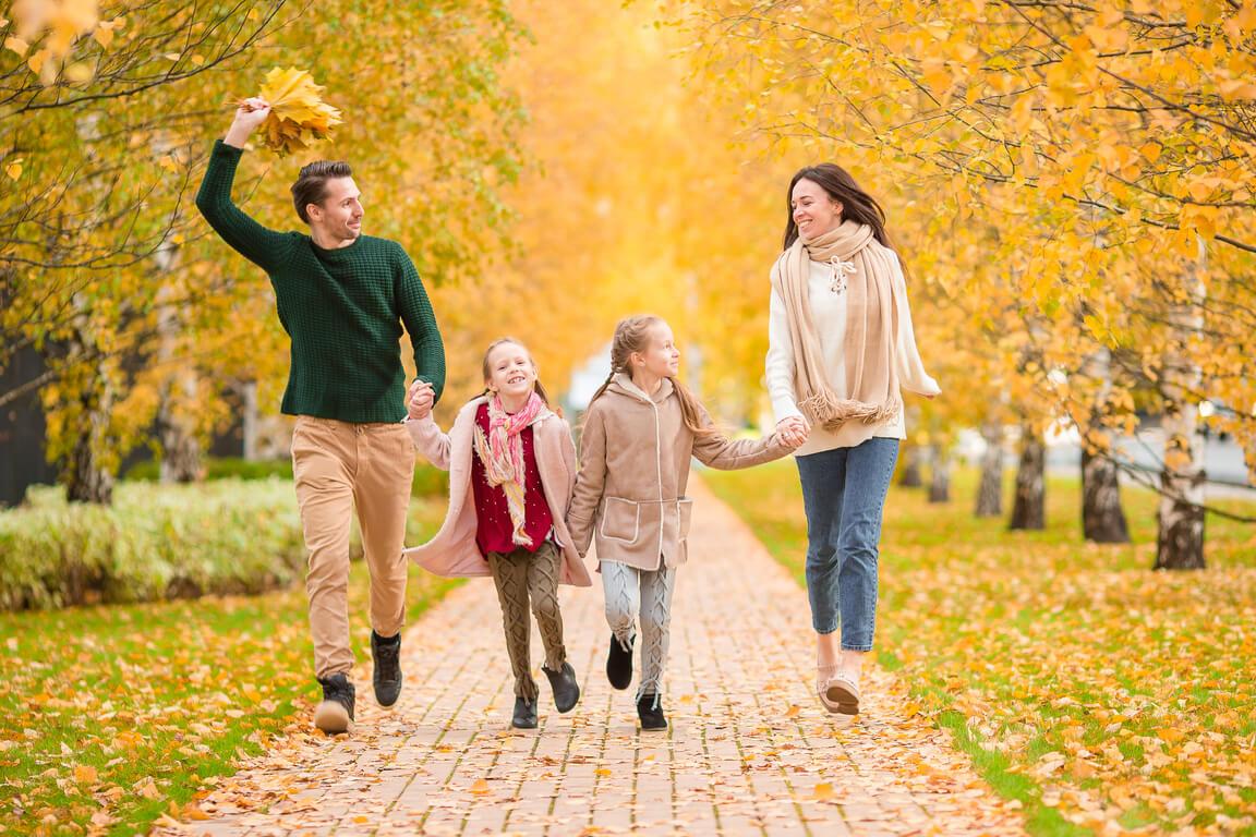 Porodica provodi jesen u Vrnjačkoj Banji