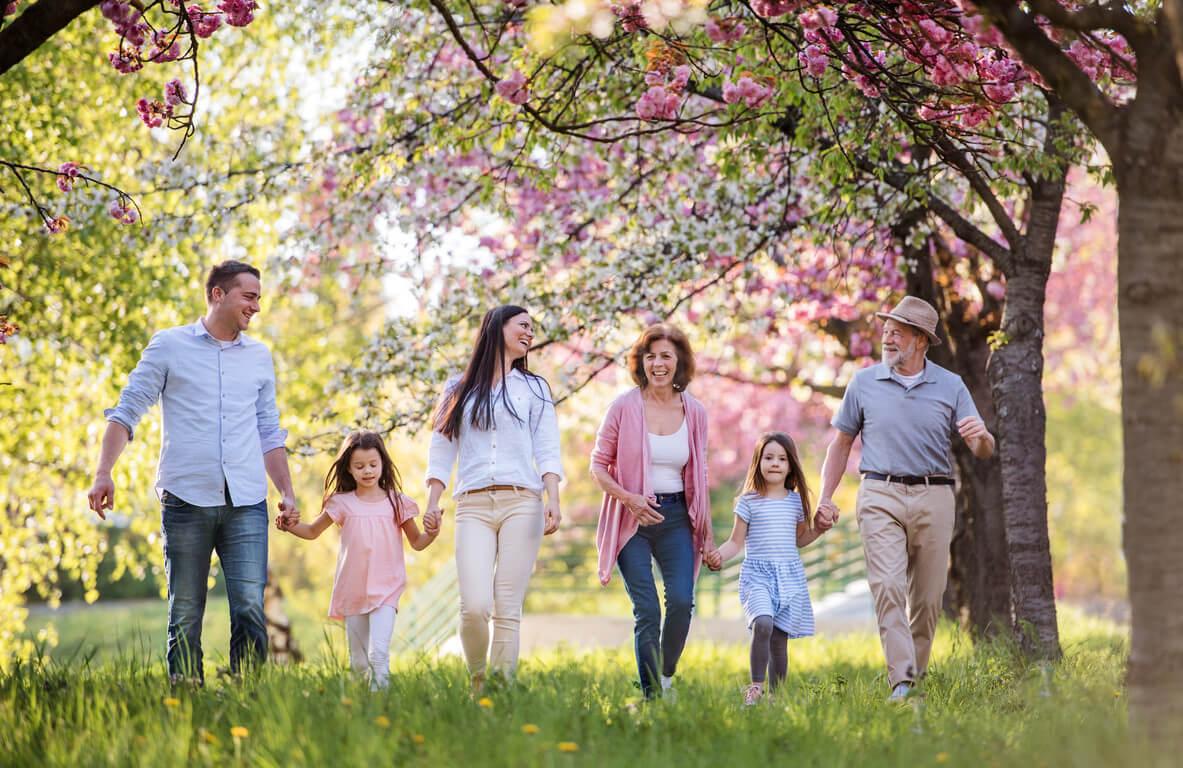 Uzivanje sa celom porodicom u parku Vrnjačke Banje