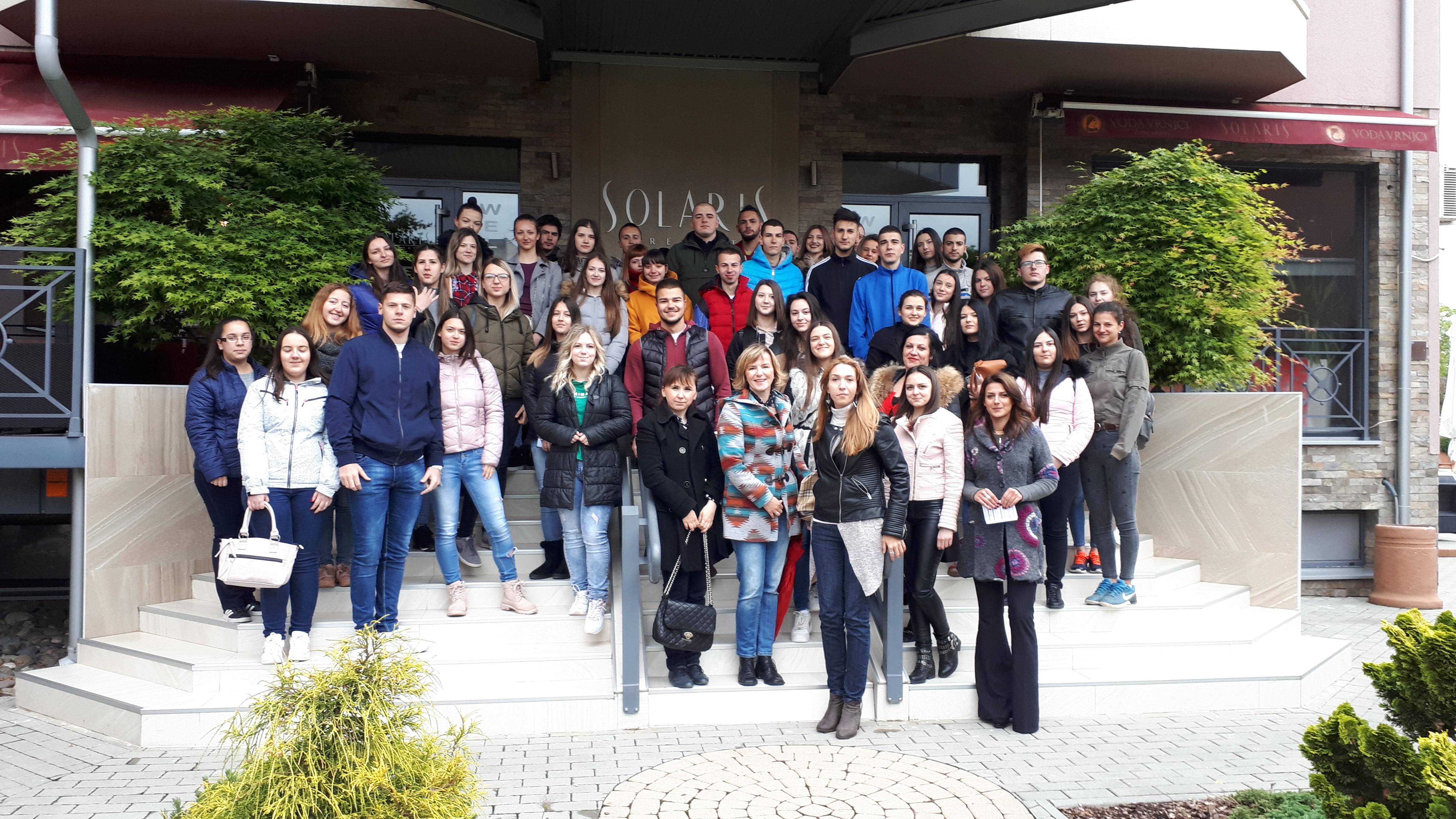 Studenti Fakulteta za hotelijerstvo i turizam u Vrnjačkoj Banji su posetili Solaris Resort