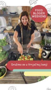 mytastypot učesnica food bloger weekenda u solarisu u Vrnjačkoj banji