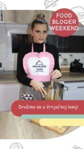 Učesnica Food Bloger weekend u Vrnjackoj banji