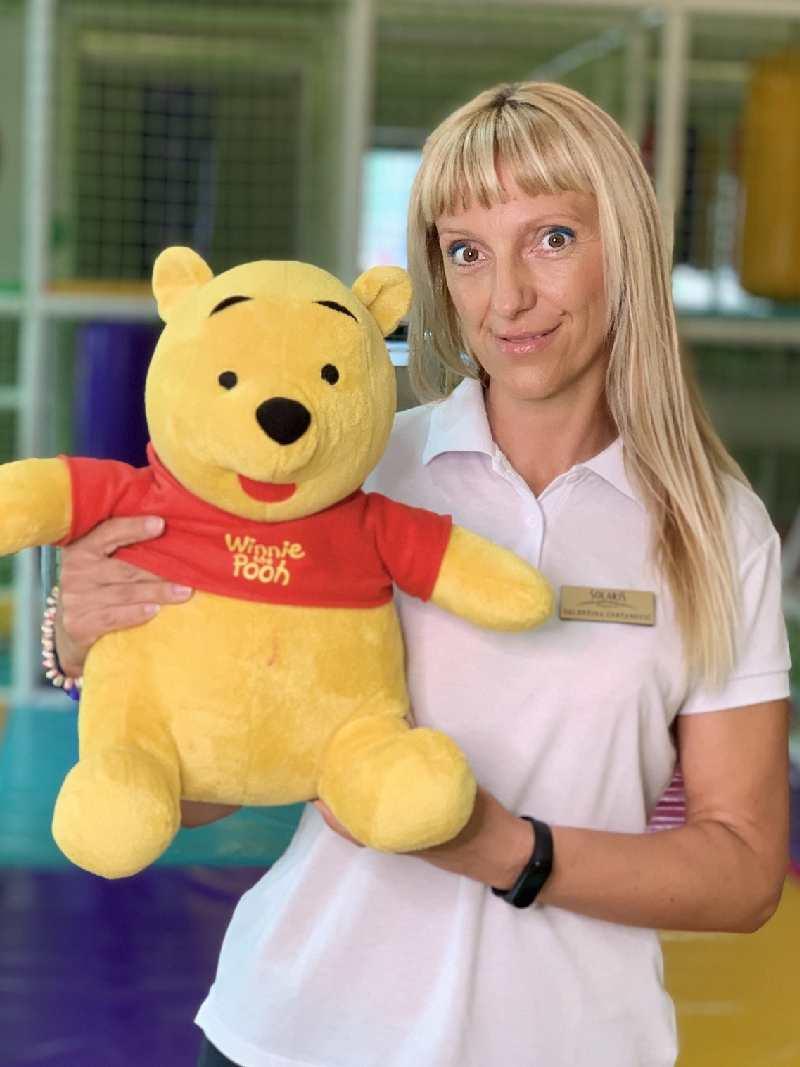 Valentina Cvetanović je šef igraonice Solaris Resorta u Vrnjačkoj Banji