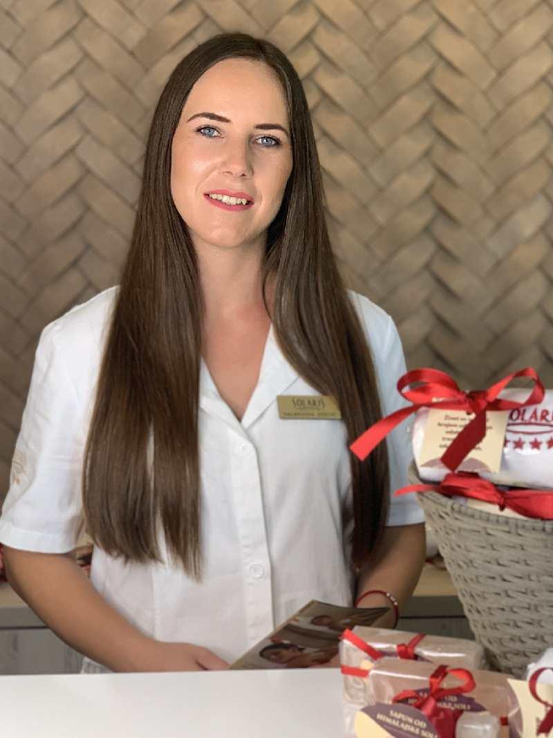 Valentina Stević je šef wellness centra Solaris Resorta u Vrnjačkoj Banji