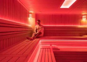 korisnik finske saune u Vrnjačkoj banji